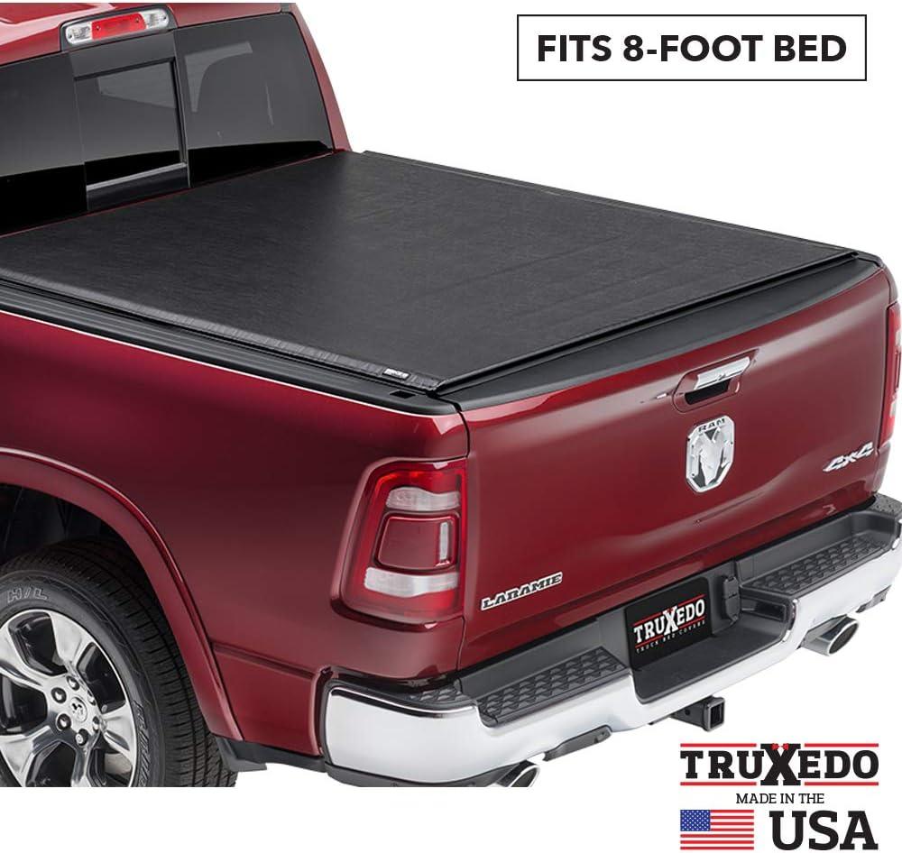 TruXedo Deuce Hybrid Truck Bed Tonneau Cover | 769601 | fits 08-16 Ford F-250, F-350, F-450 Super Duty 8' bed