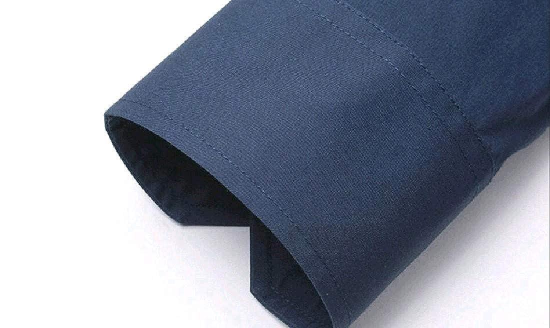 Andopa Men Premium Tailored Business Plus Size Button Down Shirt
