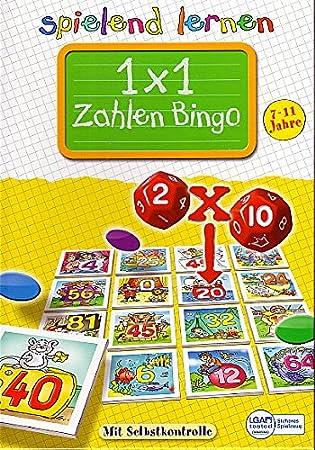 1 X 1 Zahlen Bingo Spielend Lernen Amazon De Spielzeug