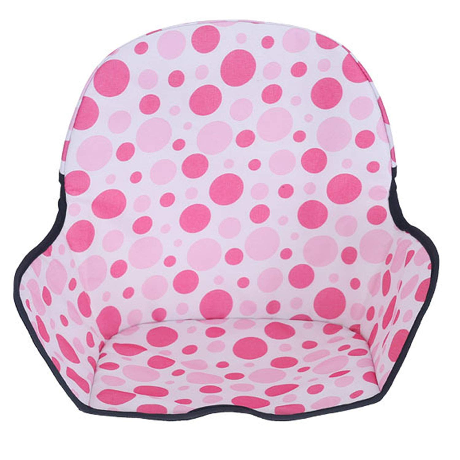 Cute Washable Folding Baby Children High Chair Seat Cushion Mat Pad Cover Protector Infant Toddlers Feeding Chair Supplies Blue Gosear