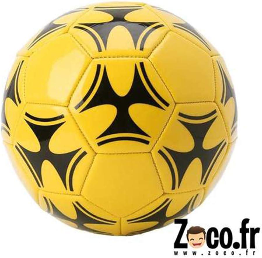 OOTDTY tamaño de balón de fútbol Amarillo y Negro 5: Amazon.es ...