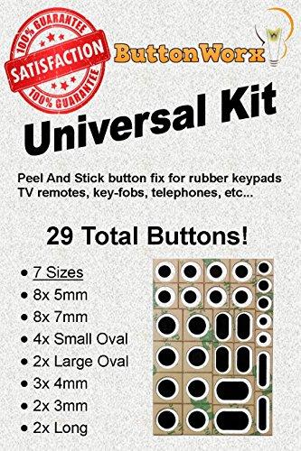 ButtonWorx TV Remote Button Repair kit