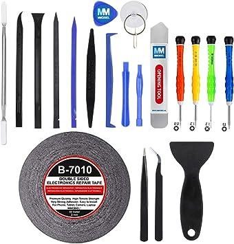 MMOBIEL 21 in 1 Kit Herramientas (Destornilladores) Premium de Reparación/Apertura para Movil Tablet Laptop Multimedia: Amazon.es: Bricolaje y herramientas