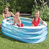Intex 57482NP - Piscina hinchable My Sea Friends 163 x 107 x 46 cm 230 litros