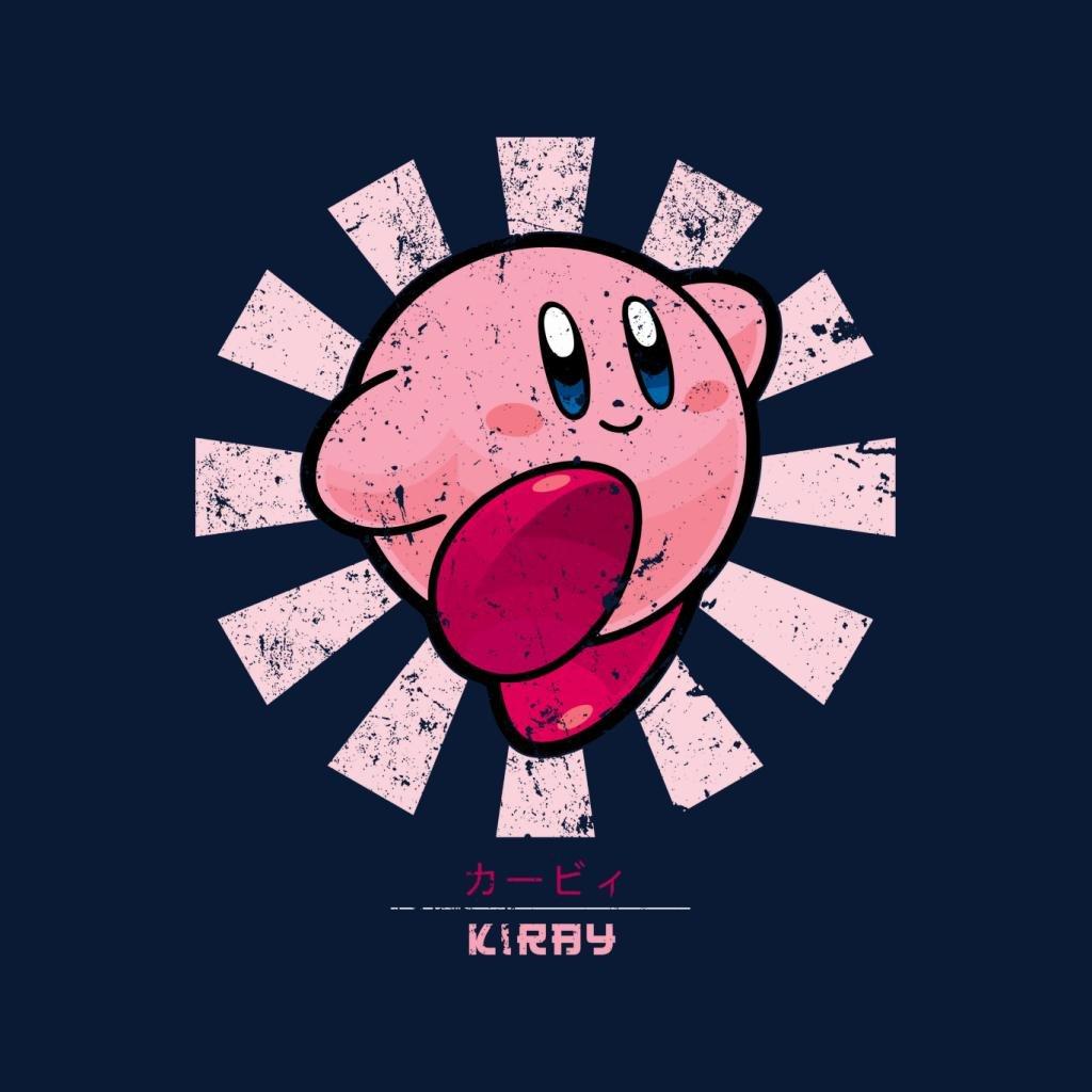 Cloud City 7 Kirby Retro Japanese Mens T-Shirt