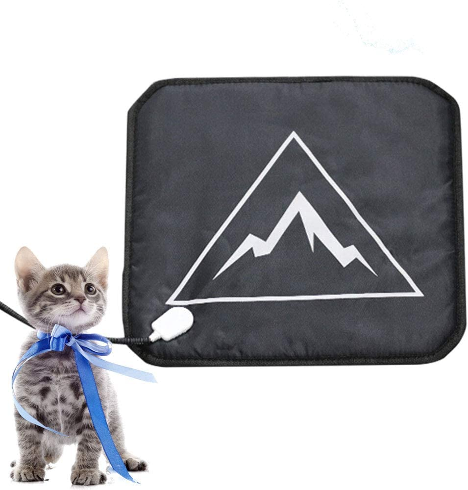 Pet Heating Pad for Cats and Dogs, Soft Electric Blanket with Auto Temperature Control, Waterproof House Heater Animal Bed Warmer, Heated Floor Mat, Whelping Supply for Pregnant New Born Pets