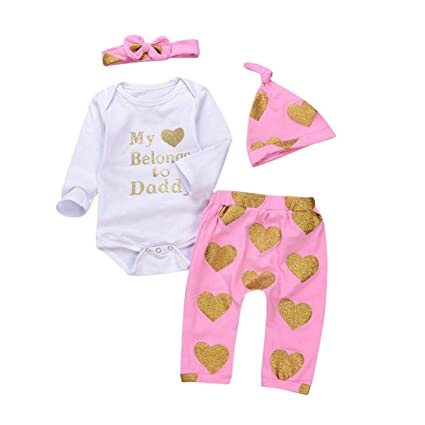 8a3d948e5 Amazon.com   KpopBaby Clearence Clothes Set Toddler Baby Letter ...