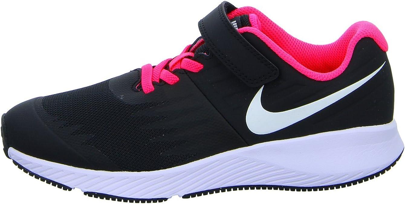 Nike Mädchen Star Runner (PSV) Traillaufschuhe, Schwarz