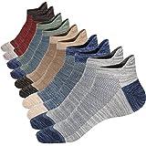M&Z Mens Socks Non-slid Ankle Cotton High Grade Socks 4 Seasons