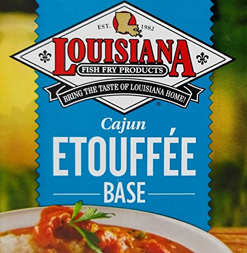 Louisiana Fish Fry Cajun Etouffee Base Mix - 1lb. Package