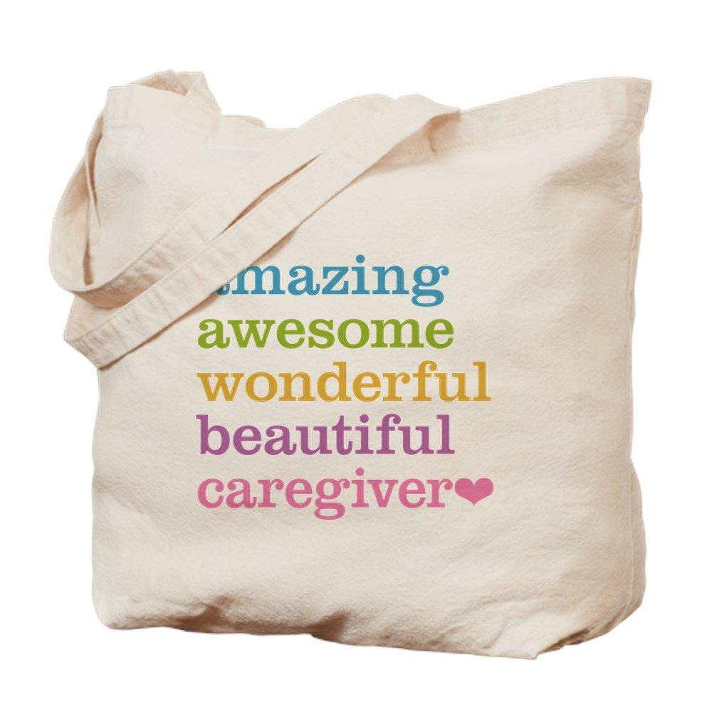 CafePress – Amazing介護 – ナチュラルキャンバストートバッグ、布ショッピングバッグ B01LIRQ5I4