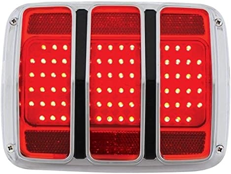 1966 mustang rear wiring amazon com united pacific 1965 1966 mustang led tail light  1965 1966 mustang led tail light