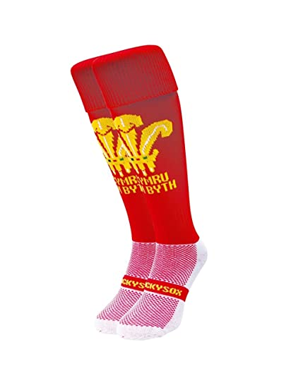Wacky Sox País de Gales Deportes calcetines: Amazon.es: Ropa y accesorios