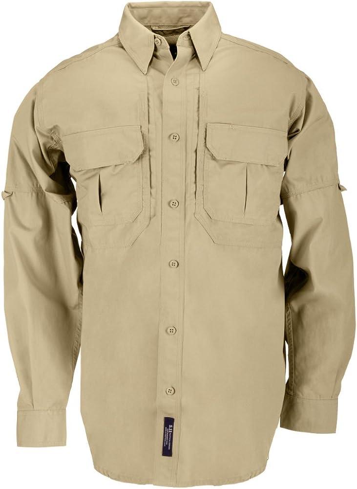 5.11 - Camisa táctica para Hombre, Hombre, Color Marrón (Coyote Brown), tamaño Small: Amazon.es: Deportes y aire libre