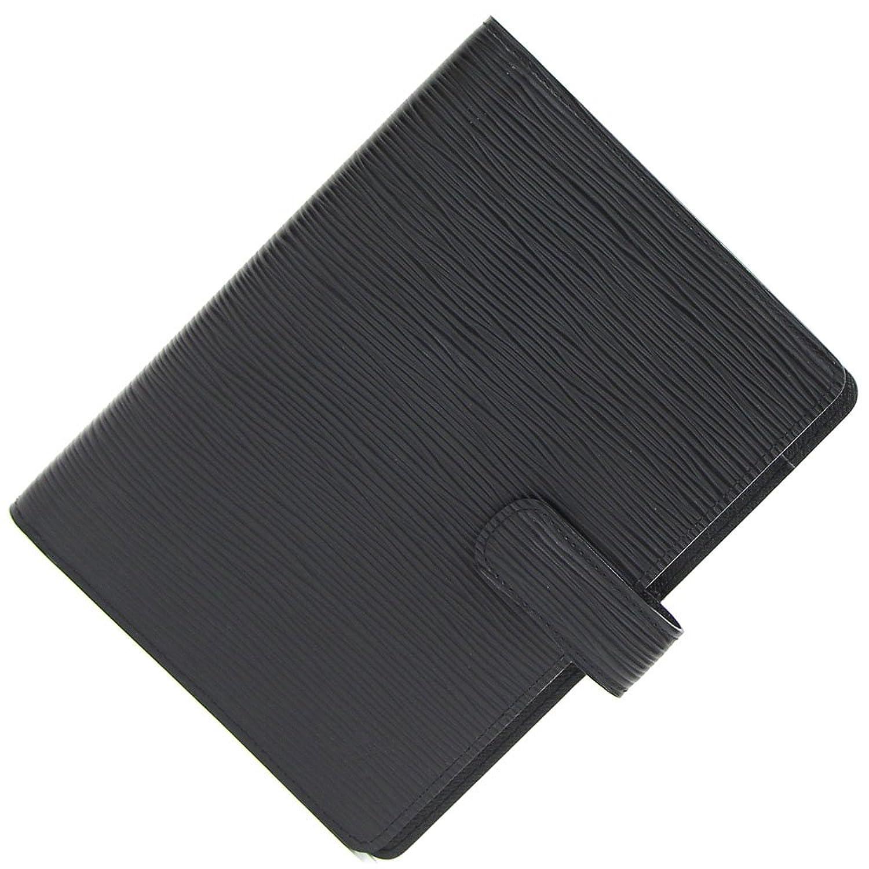 LOUIS VUITTON(ルイヴィトン) 手帳カバー エピ アジェンダMM R20202 ノワール 中古 スケジュール帳 システム手帳 黒 ブラック 革 LOUIS VUITTON [並行輸入品] B07FDTNCJX  -