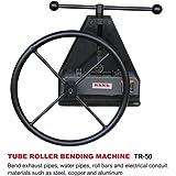 KAKA TR-50 Manual Tube Pipe Roller Bender, High Precision Tubing Pipe Bender