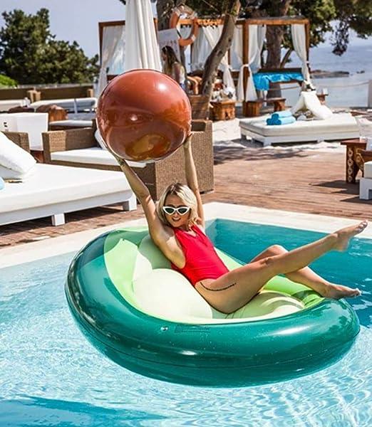 Lady of Luck Flotador Gigante De La Piscina del Aguacate Verano Fiesta Playa Vacaciones de Verano Juguete para Adultos y Niños: Amazon.es: Juguetes y juegos