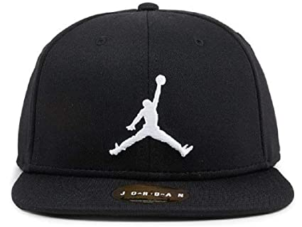 Nike Jordan Jumpman Snapback Gorra de Tenis, Hombre, Black/White, MISC