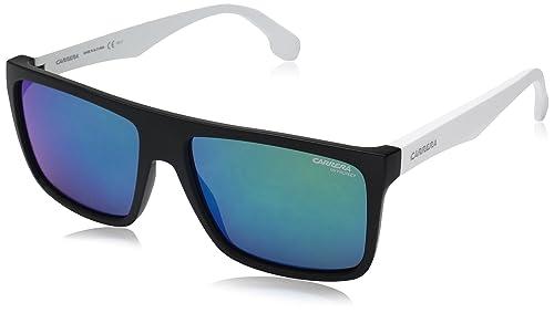 Carrera 5039/S Z9, Gafas de Sol Unisex-Adulto, Mtblck White, 58