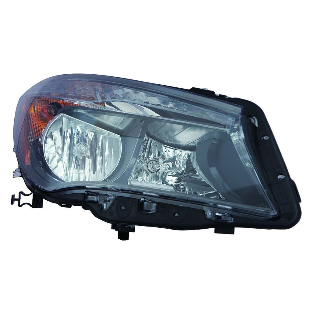 Fits Mercedes Benz CLA 2014-2017 Headlight Assembly Halogen Passenger Side (NSF Certified) MB2503222N
