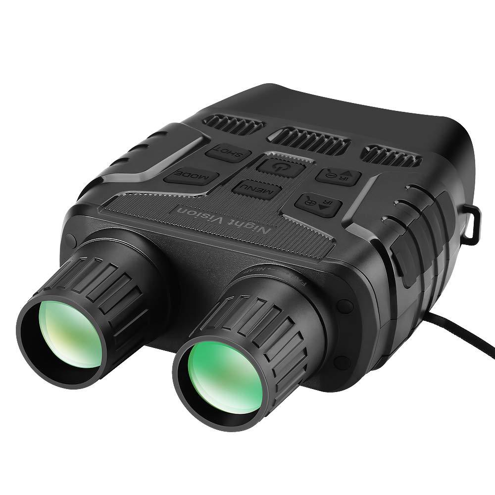 BOBLOV Night Vision Binoculars 300 Yards Digital IR Night Vision Binoculars with 2.3 inch Screen Photos Videos Camera Playback by BOBLOV