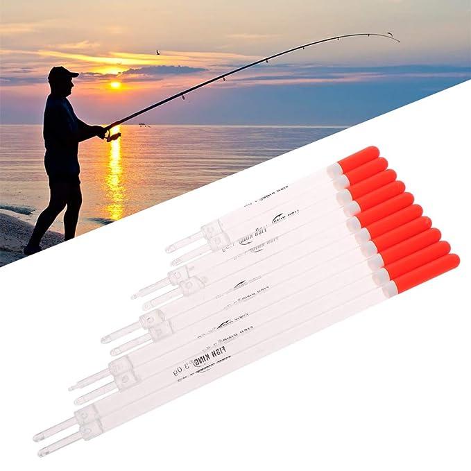 Watermk 5 Teile//Satz Fischen Schwimmt Set Boje Float Fisch Stick Mix Gr/ö/ße Farbe Zubeh/ör