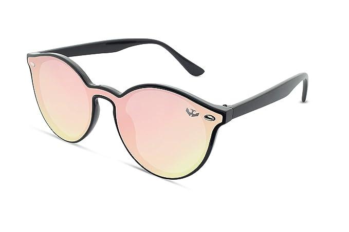 Gafas sol lente plana MOSCA NEGRA ® modelo R-ZONE Pink ...
