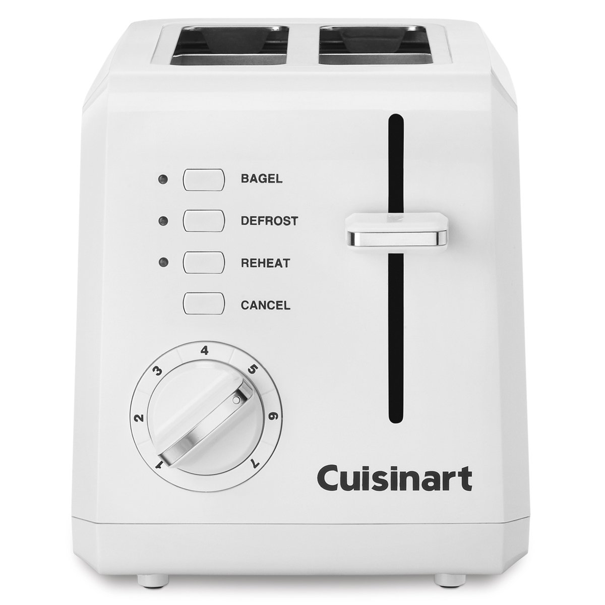 Cuisinart CPT-122 2-Slice Compact Plastic Toaster (White) by Cuisinart