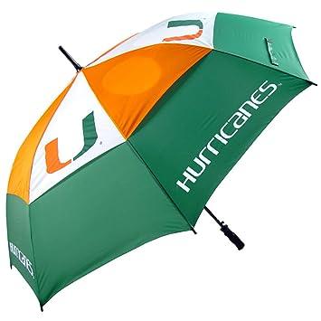 Miami Hurricanes NCAA Golf Umbrella (62u0026quot;)  sc 1 st  Amazon.com & Amazon.com : Miami Hurricanes NCAA Golf Umbrella (62