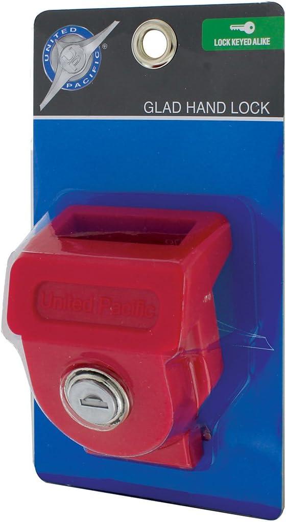Glad Hand Locks W// 2 Keys Brelco Metal Lot Of 8 Key Alike