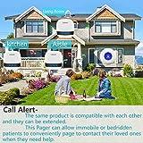 LIOTOIN Wireless Caregiver Pager Call Button Nurse