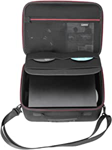 RLSOCO Hard Shell Carrying Case Compatible for Xbox One X / One S Console and Accoessories - Fits for Xbox One Controllers, Headsets, Mobile Hard Drive, Cables