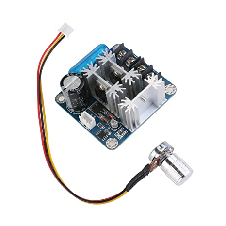 6V-90V 15 A pulse ancho PWM Motor DC velocidad controlador cambiar