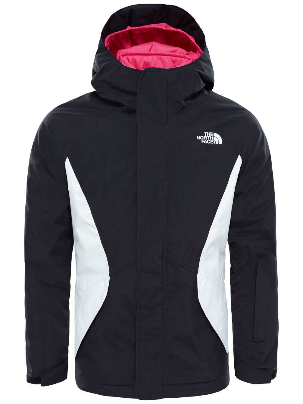 The North Face Big Girls' Kira Triclimate Jacket - tnf black, m/10-12