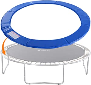 Exacme Trampoline Replacement Safety Pad Spring Cover, No Slots for Poles, Variety of Sizes and Colors