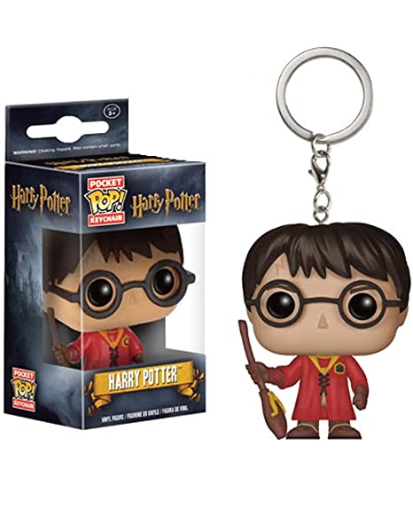 Llavero Harry Potter Quidditch 4 cm. Línea POP! Pocket ...