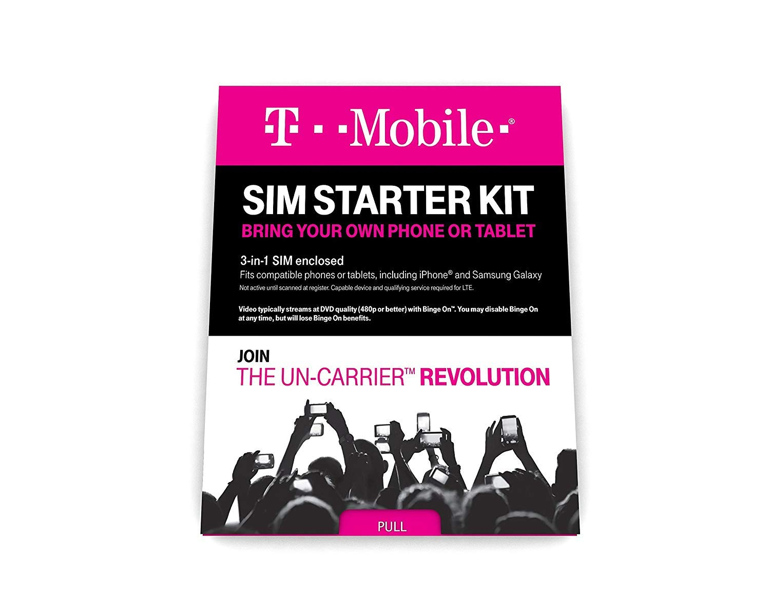 727a769bf93 Amazon.com  T-Mobile Prepaid Complete SIM Starter Kit  Cell Phones    Accessories