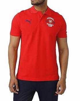 2014-2015 Arsenal Puma Fan Polo Shirt (Red) vYBGZ