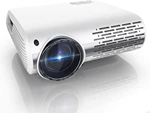 Proyector, YABER Y30 7000 Lúmenes Proyector Full HD 1920x1080P Proyector Cine en Casa Soporta 4K y Sonido HiFi, Ajuste Digital 4D y Función de Zoom, Proyector LED con Tecnología de Nueva Generación