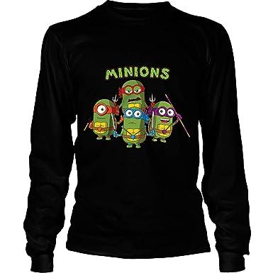 Amazon.com: Minions Cosplay Ninja Turtles - Sudadera con ...