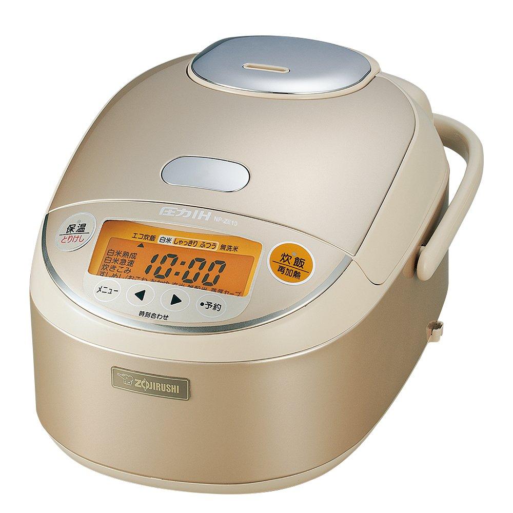 象印 B00M3WB08O 圧力IH炊飯器 5.5合 5.5合 象印 NP-ZE10-NL B00M3WB08O, MIZUSHIMA SELECT:f498aa8c --- lembahbougenville.com