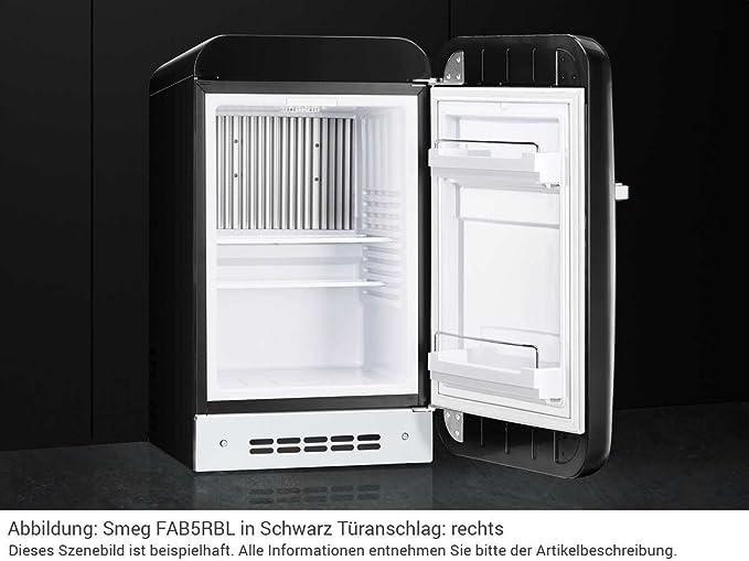 Smeg Kühlschrank Db : Smeg fab5lbl autonome 31l d schwarz kühlschrank u2013 kühlschränke