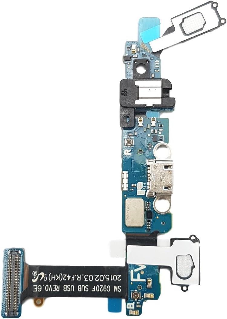 Smartex® Conector de Carga Compatible con Samsung Galaxy S6 (G9200 G920F) - Charging Flex