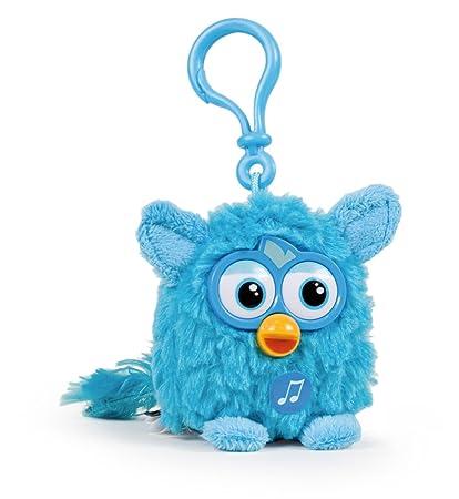 Furby Azul 8cm Llavero Muñeco Peluche con sonido Nuevo ...