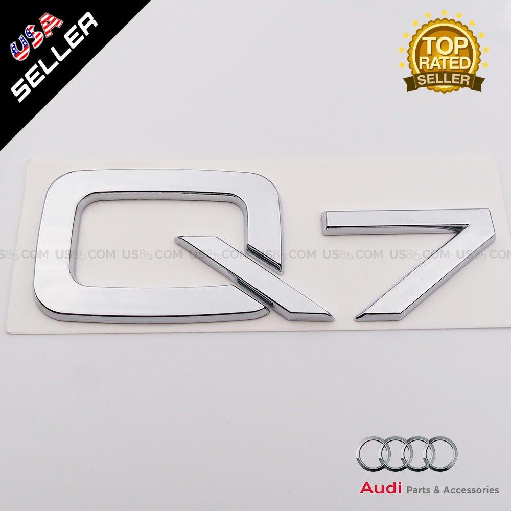 us85/OEM Audi Q7/en la placa tronco de cromo emblema Logo insignia Decoraci/ón modificado