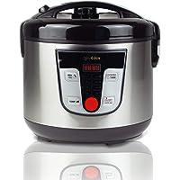 NEWCOOK Robot de Cocina Multifunción, Capacidad 5 Litros, Programable Hasta 24H, Cocina Automáticamente, 8 Menús…