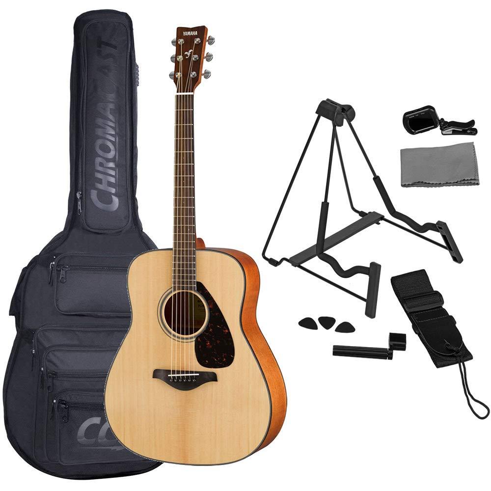 Yamaha FG800 - Guitarra acústica (incluye bolsa para guitarra ...