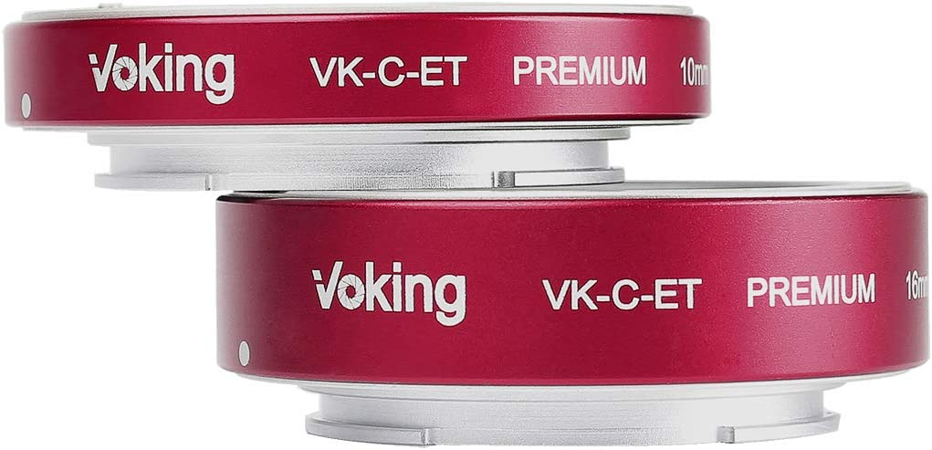 Voking VK-C-ET 10mm+16mm Metal AF Auto Focus Macro Extension Tube ...