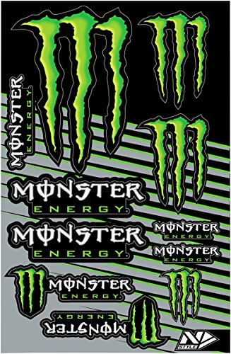 monster energy big sticker - 2