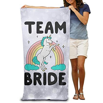 54212cf9 Amazon.com: luickyw Wxf Magical Team Bride Soft Absorbent Beach ...